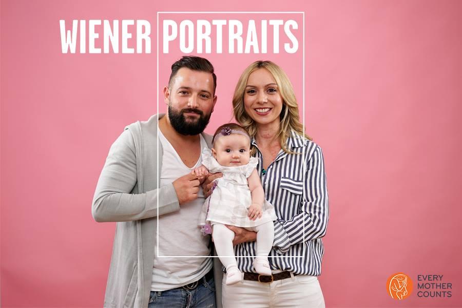 Emanuel, die kleine Sarah und Johanna Foto: Stefan Joham Photography