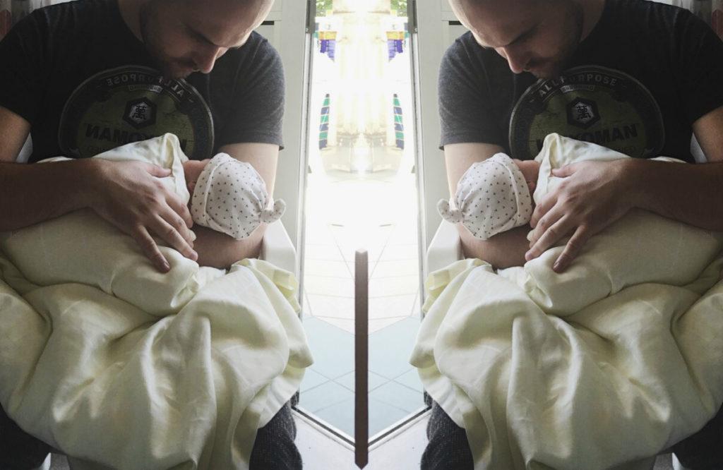 Wie es sich angefühlt hat, unser Baby zum ersten Mal zu sehen
